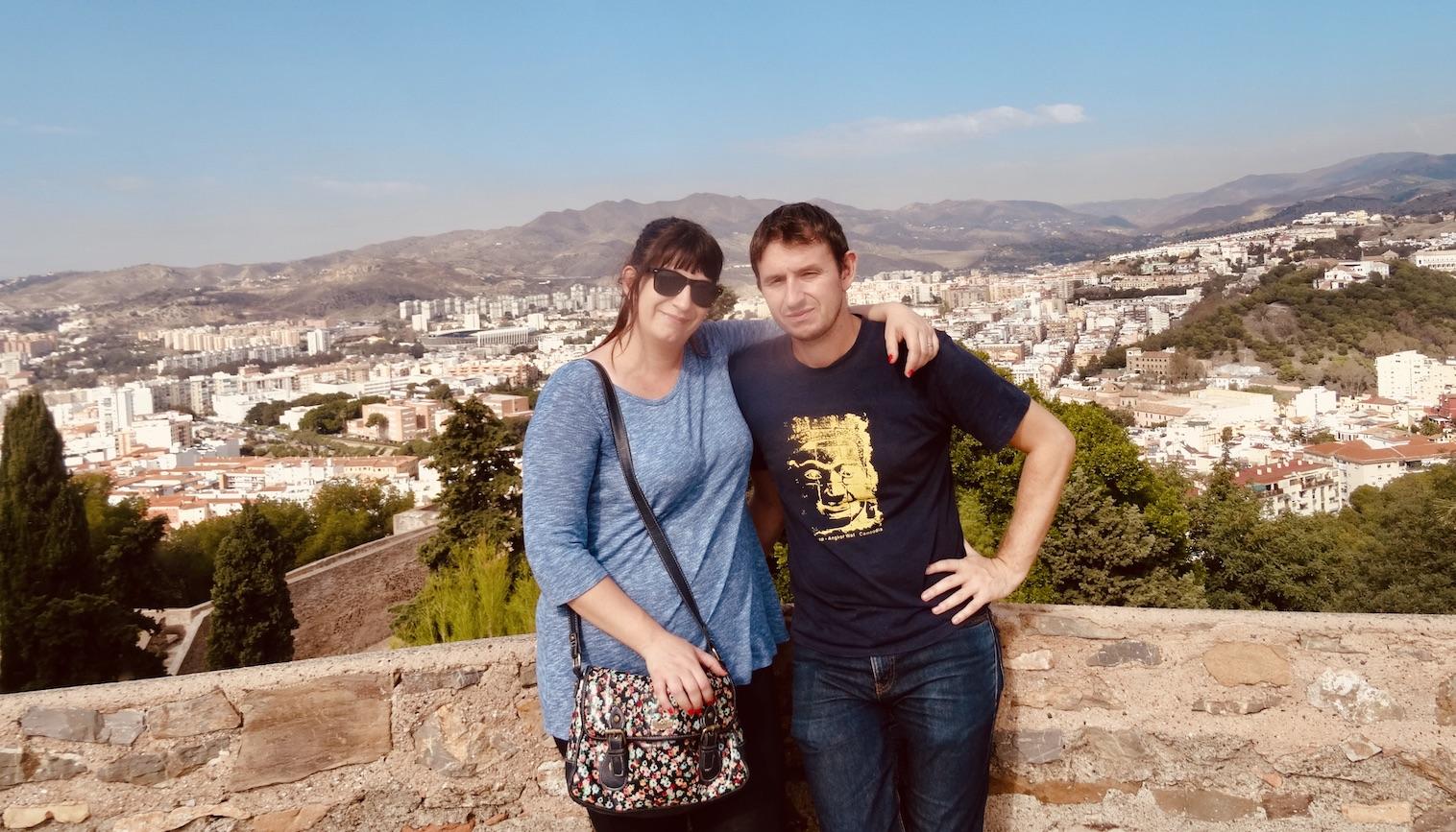 Malaga Gibralfaro Castle.