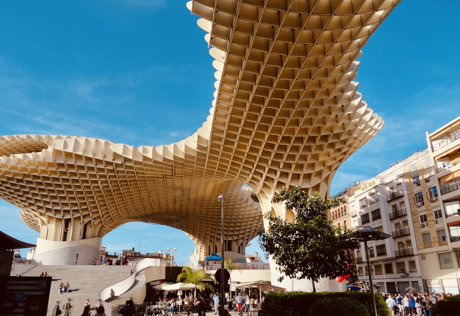 Metropol Parasol Seville.