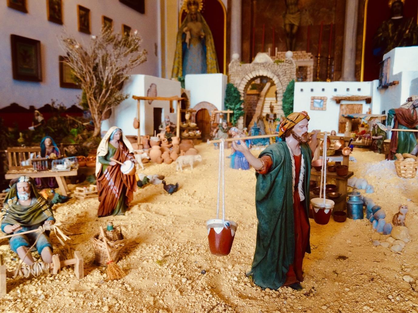 Model nativity scene Marbella Costa del Sol