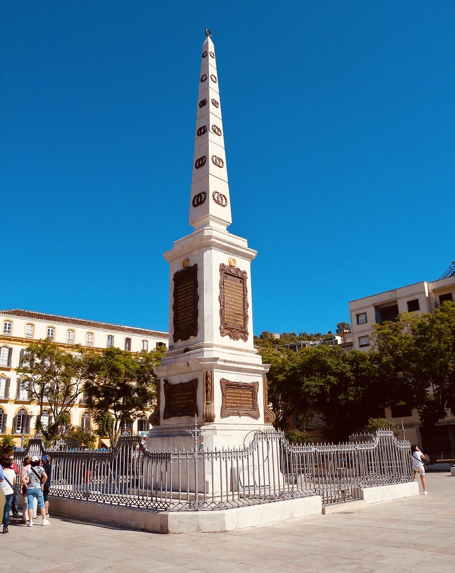 Monumento a Torrijos Malaga.