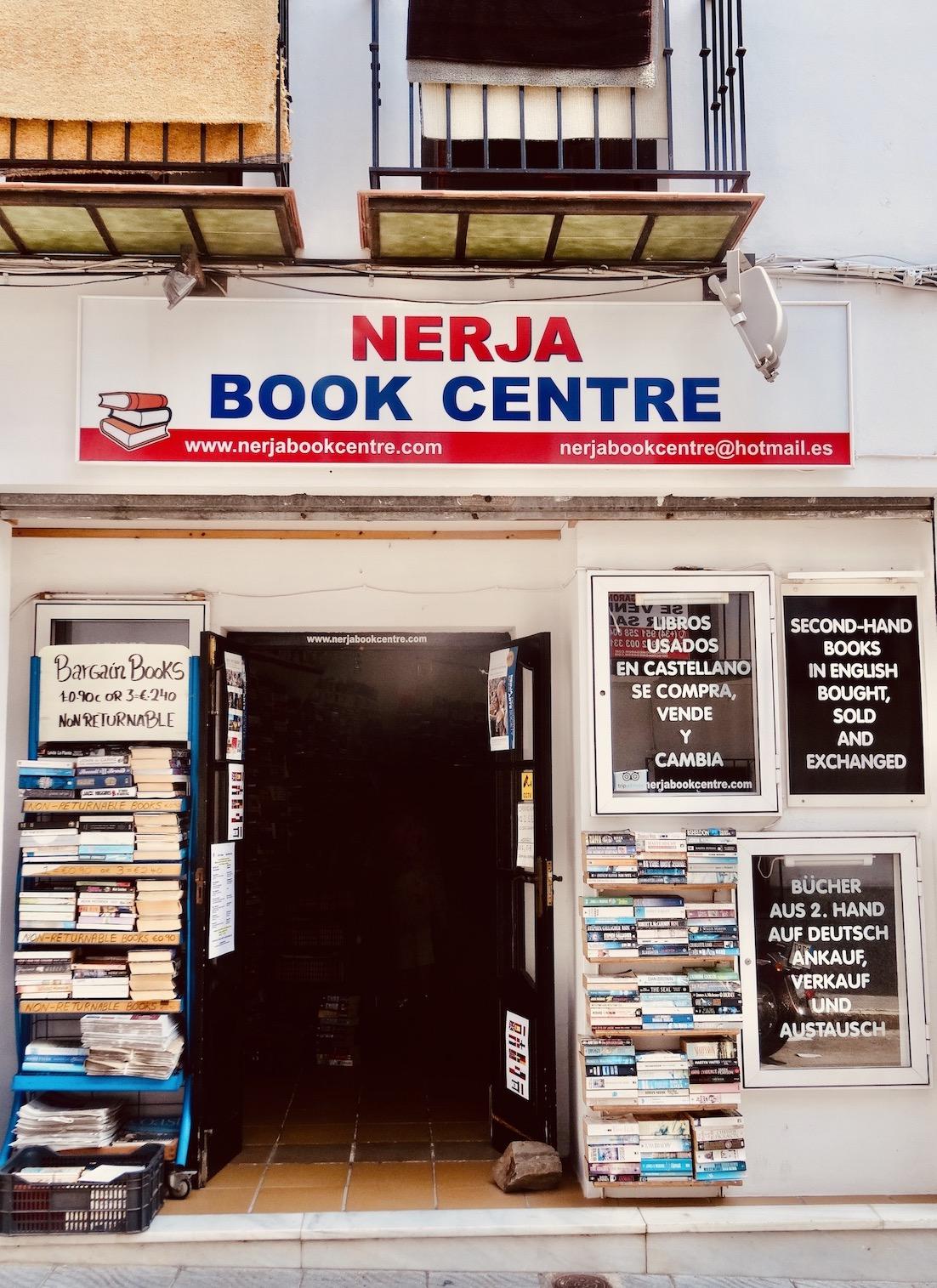 Nerja Book Centre Spain.
