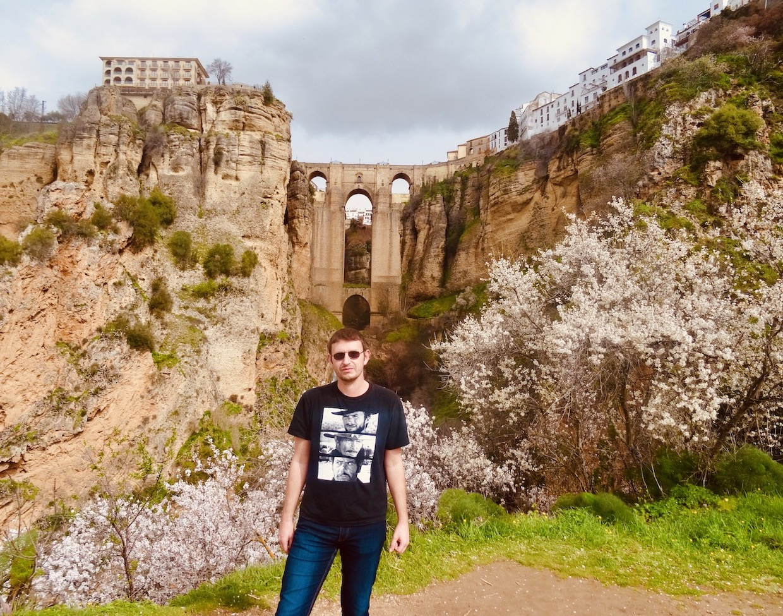 New Bridge in Ronda Spain.