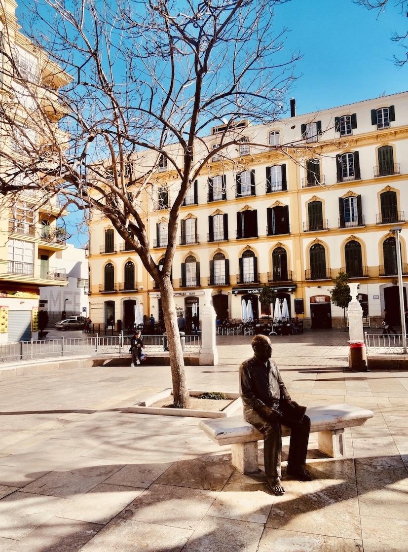 Picasso Statue Plaza de la Merced Malaga