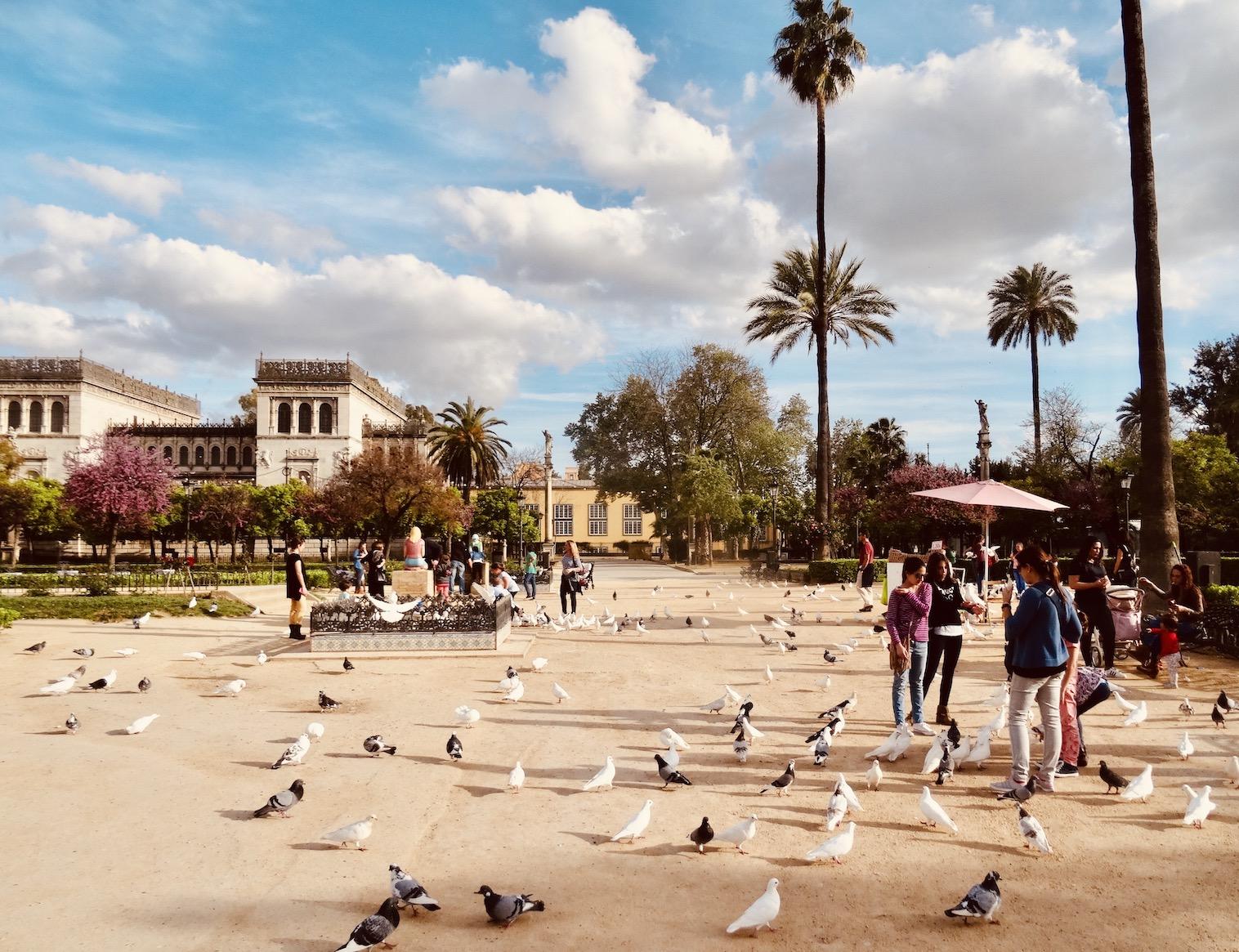 Plaza de America Seville.