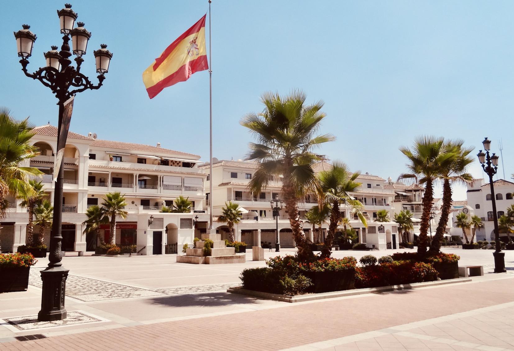 Plaza de Espana Nerja.