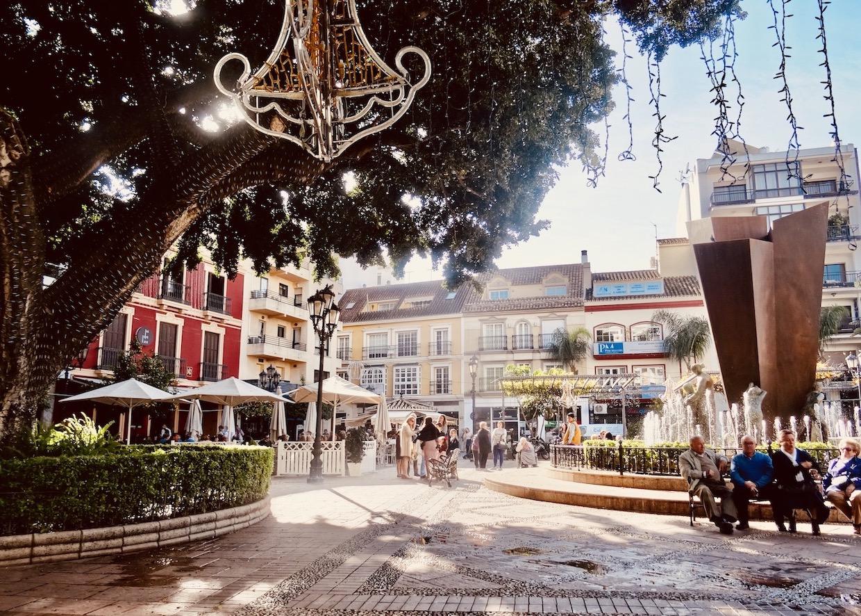 Plaza de la Constitucion Fuengirola.