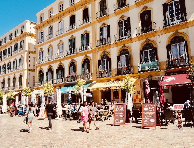 Plaza de la Merced Cool Spots Around Malaga