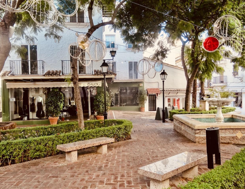 Plaza de la Victoria Marbella The Costa del Sol