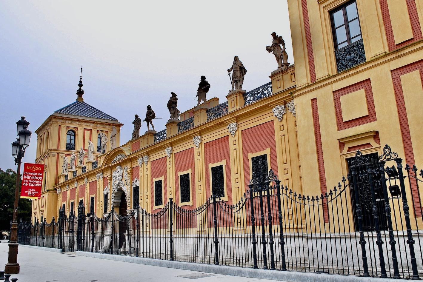 San Telmo Palace in Seville.
