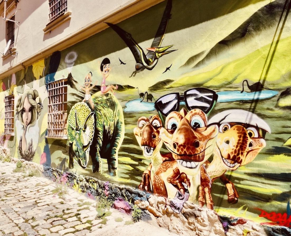 Street art Malaga.