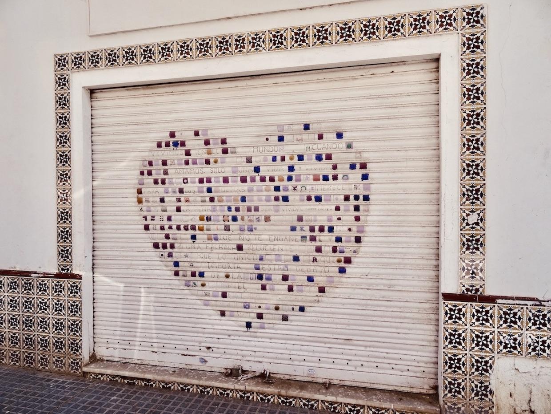 Street art in Malaga.