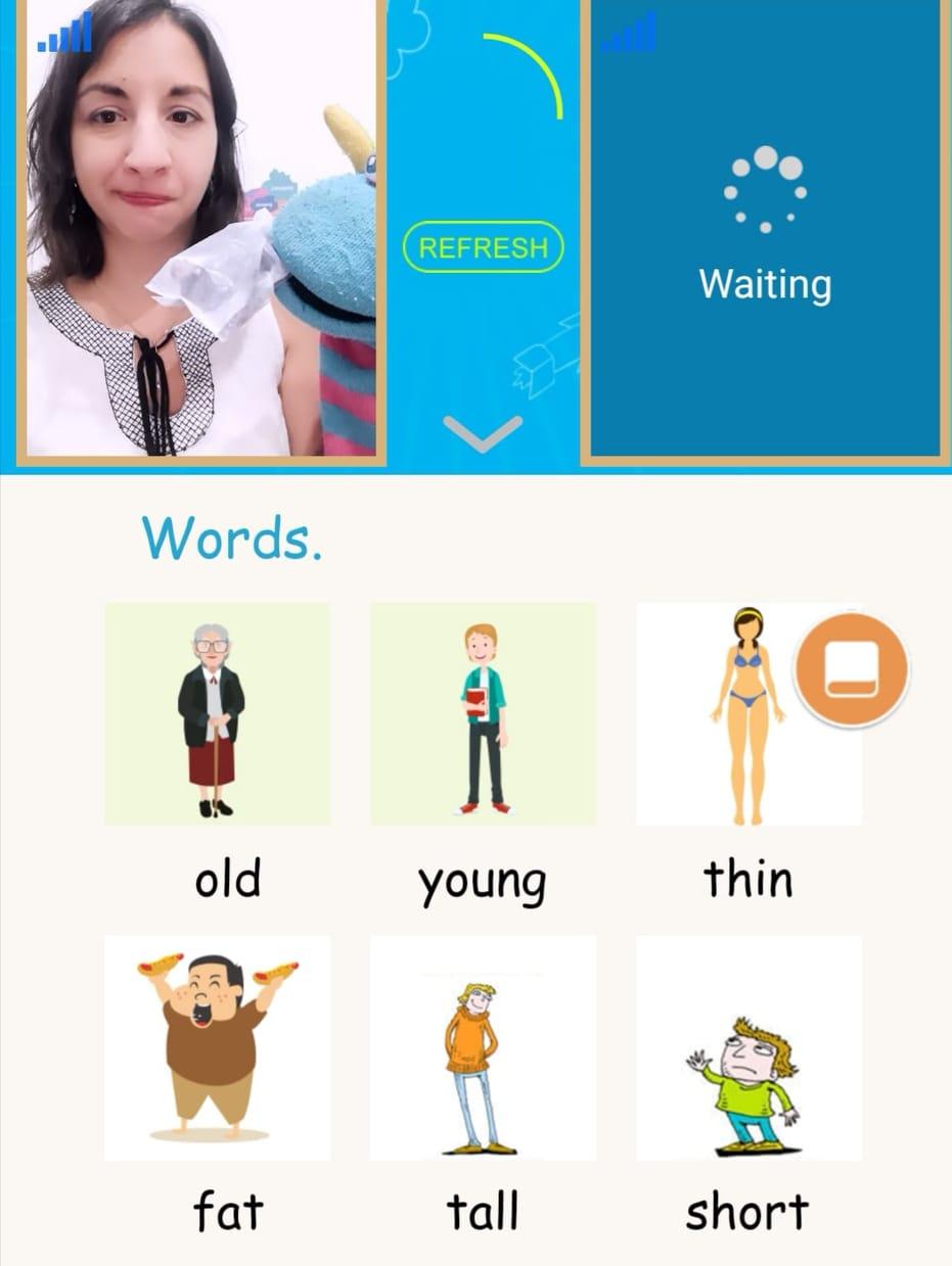 Teaching English online with Freebao.