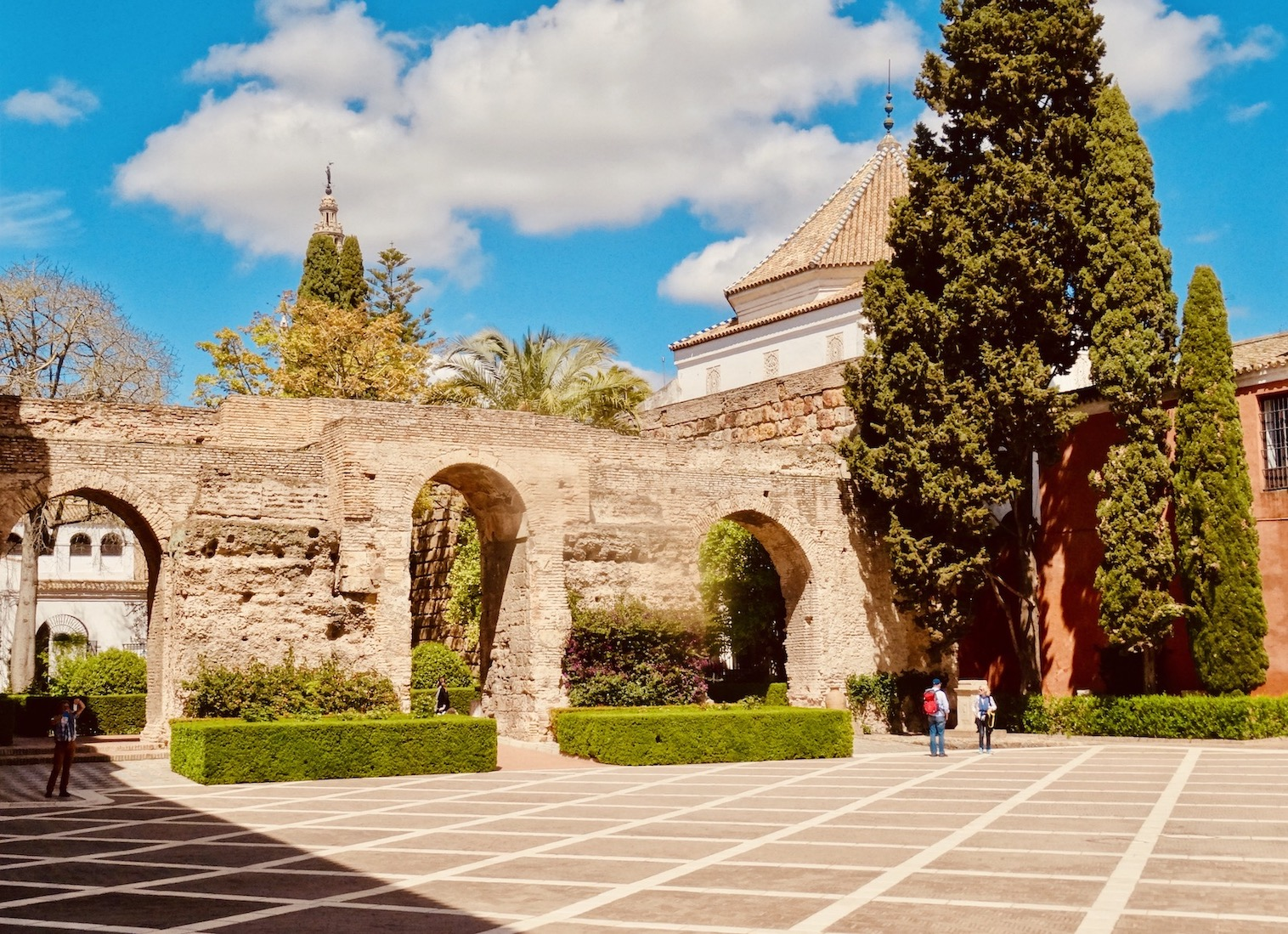 The Alcazar Seville.