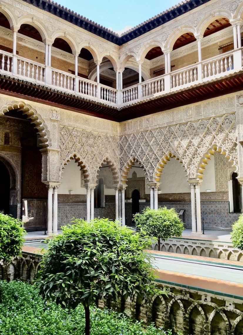 The Alcazar in Seville March 2017.