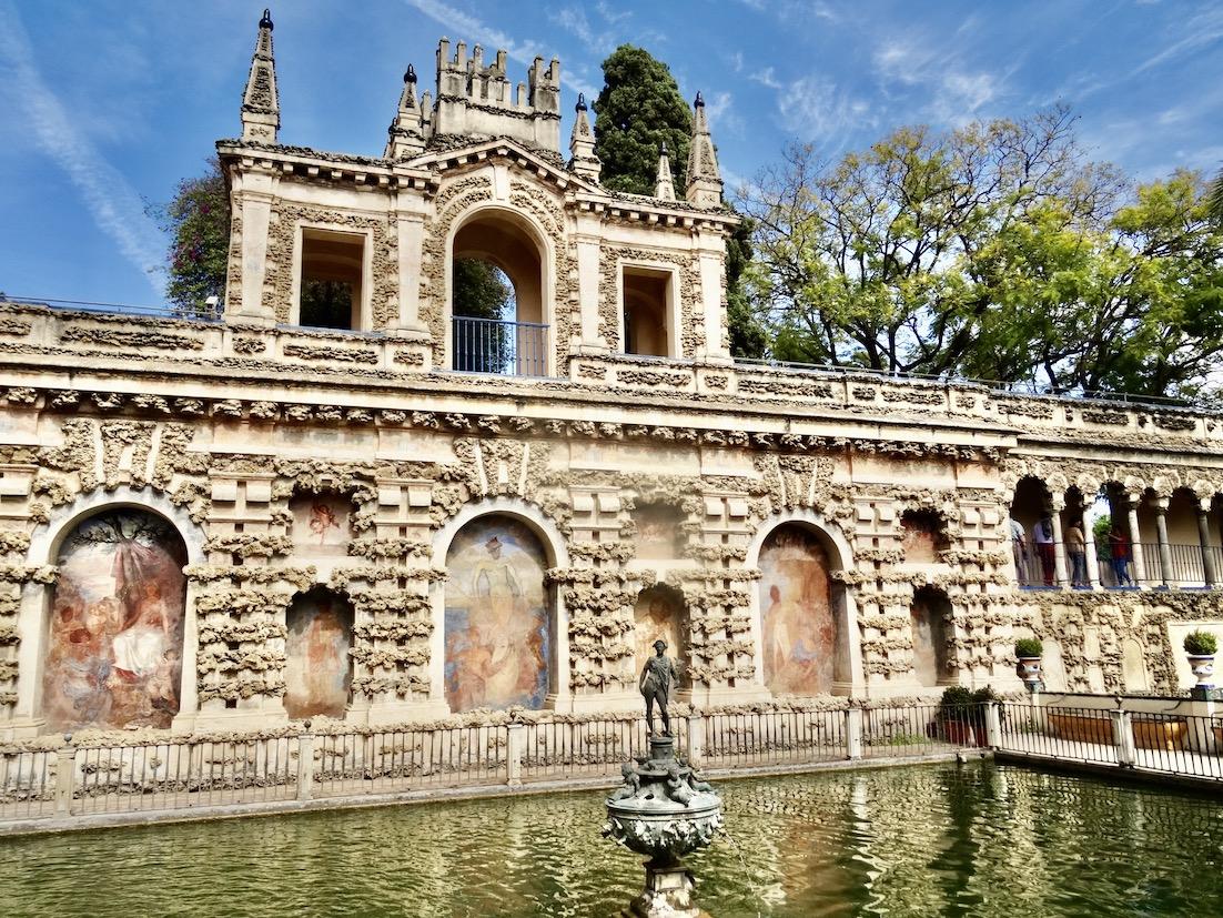 The Mercury Pond The Alcazar Palace Gardens