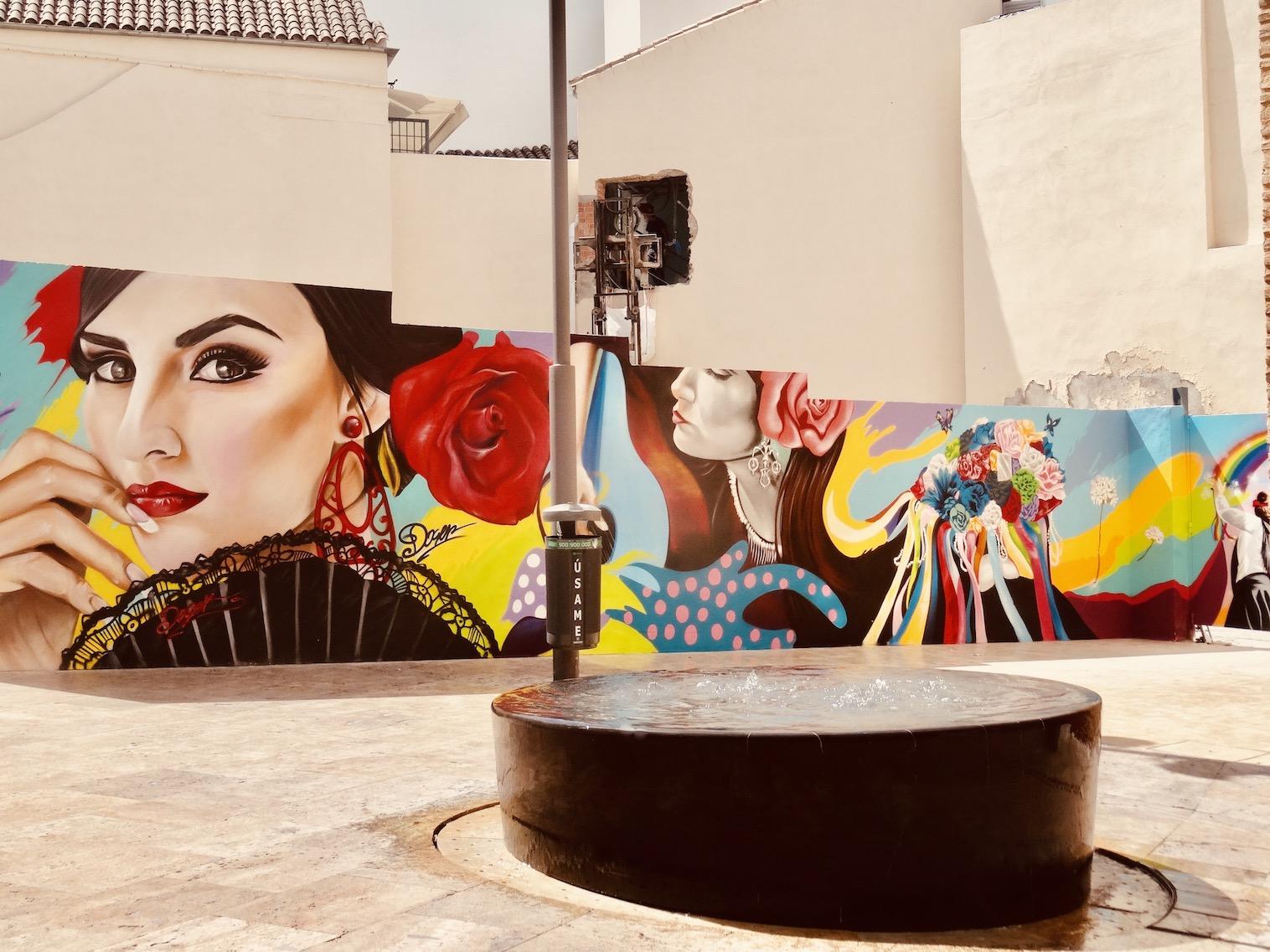 Visit Malaga Malaga street art.