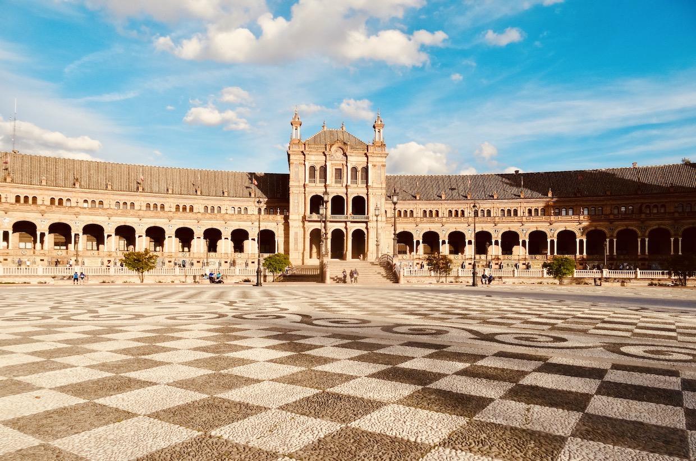 Visit Seville Plaza de Espana.