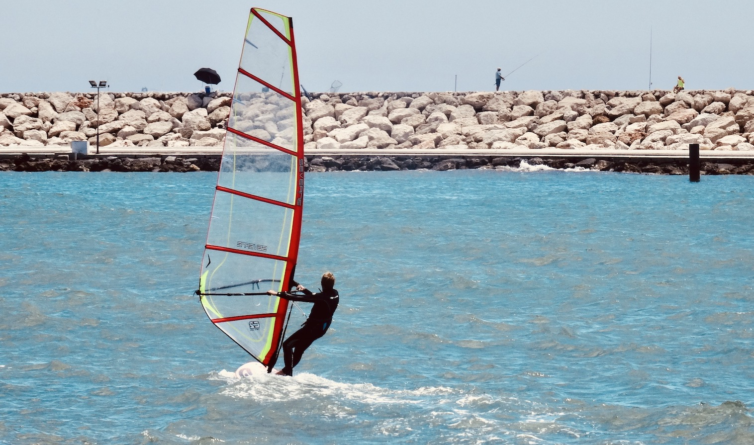Water sports in Benalmadena.