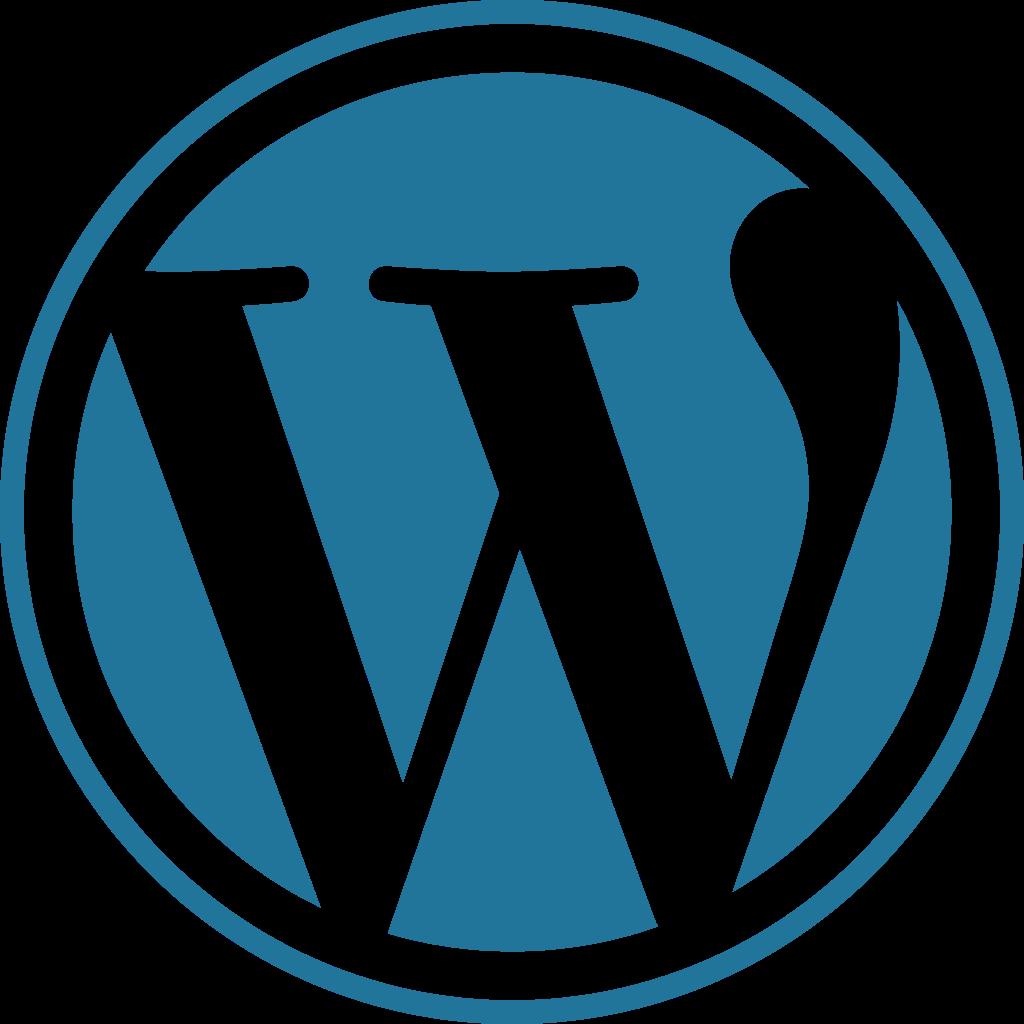 WordPress logo.