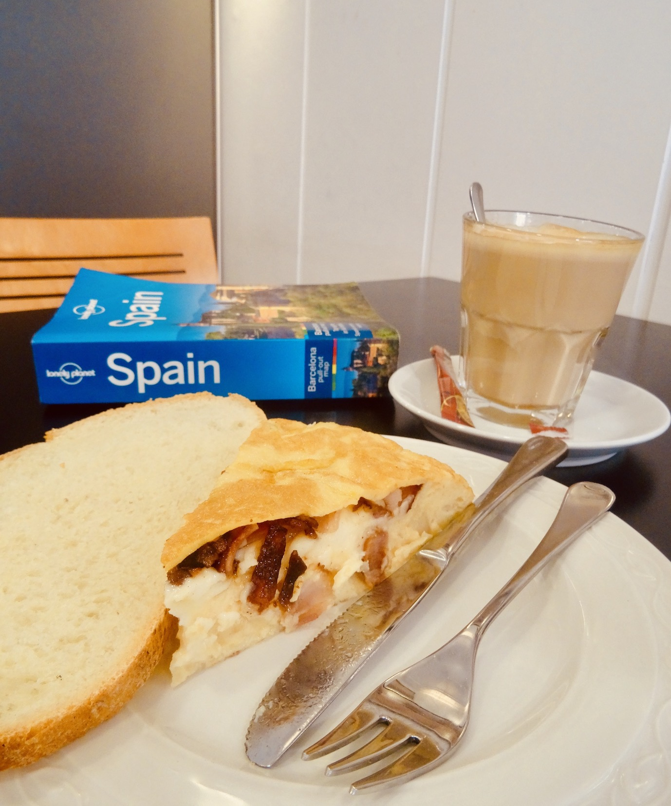 Baden Baden Cafe Bilbao Spain.