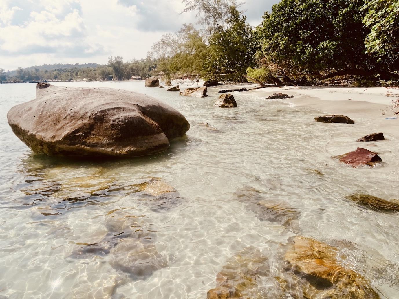 Beautiful Nature Beach Koh Rong Island.