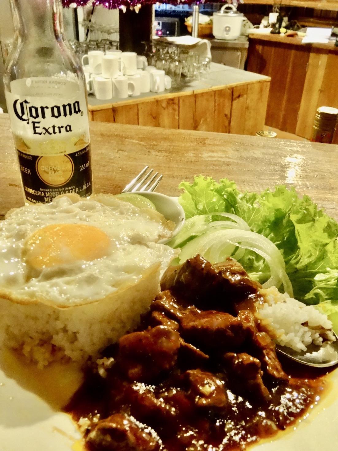 Beef Lok Lak Koh Rong Cambodia.