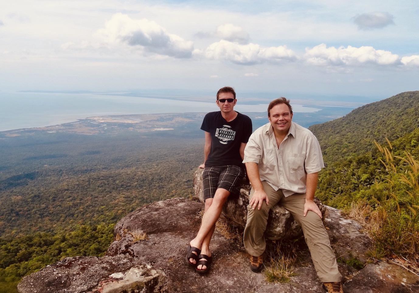 Bokor Mountain visit 2015.