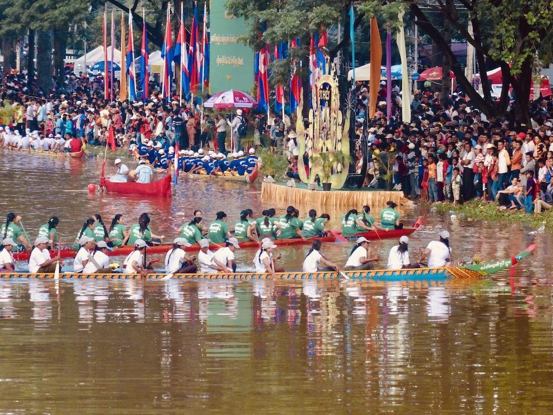 Bon Om Touk Siem Reap Cambodia.