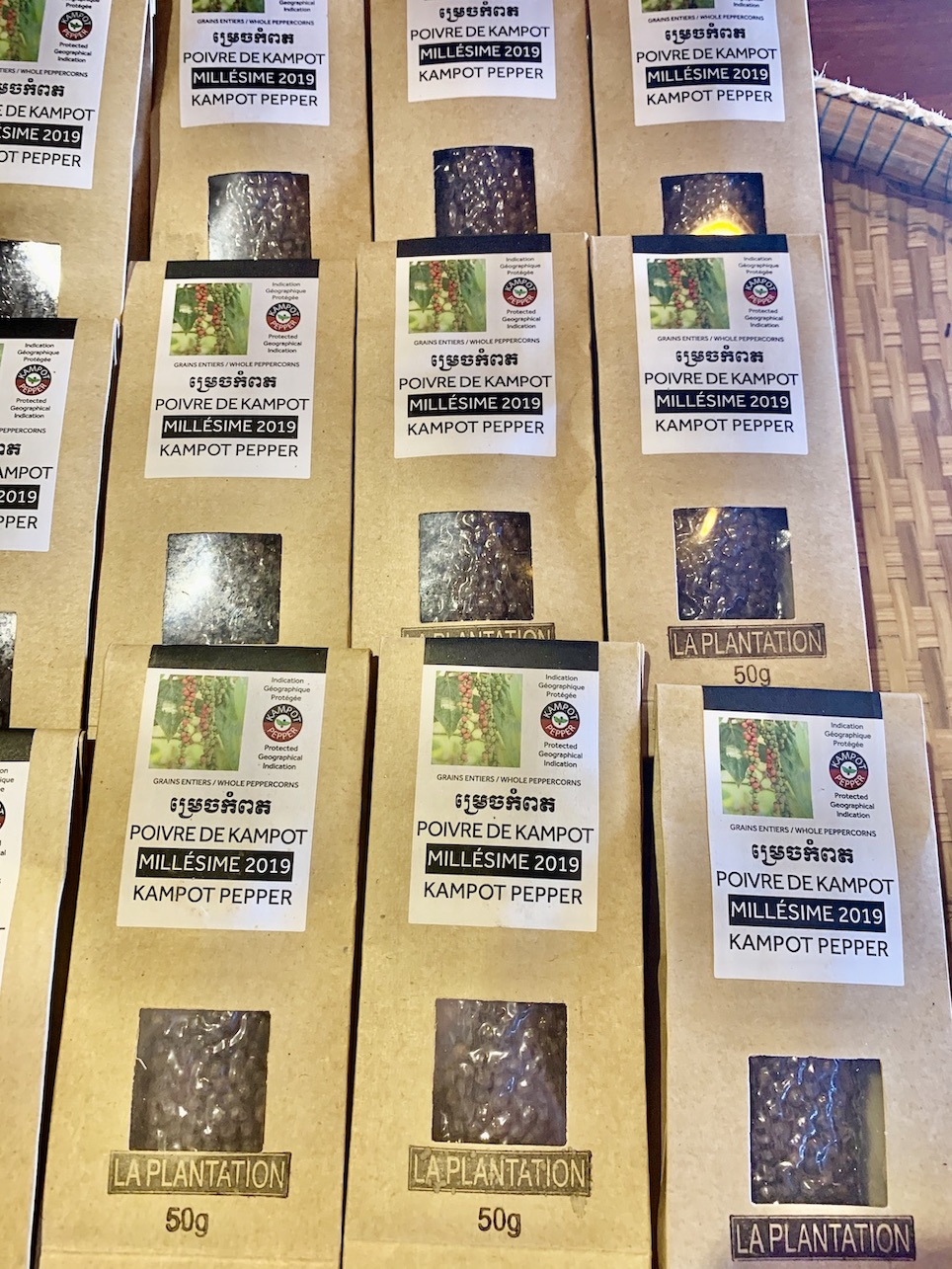 Buy Kampot Pepper La Plantation Kampot Cambodia.