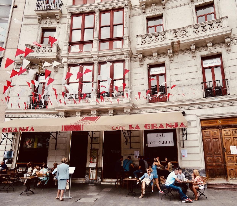 Cafe La Granja Bilbao.