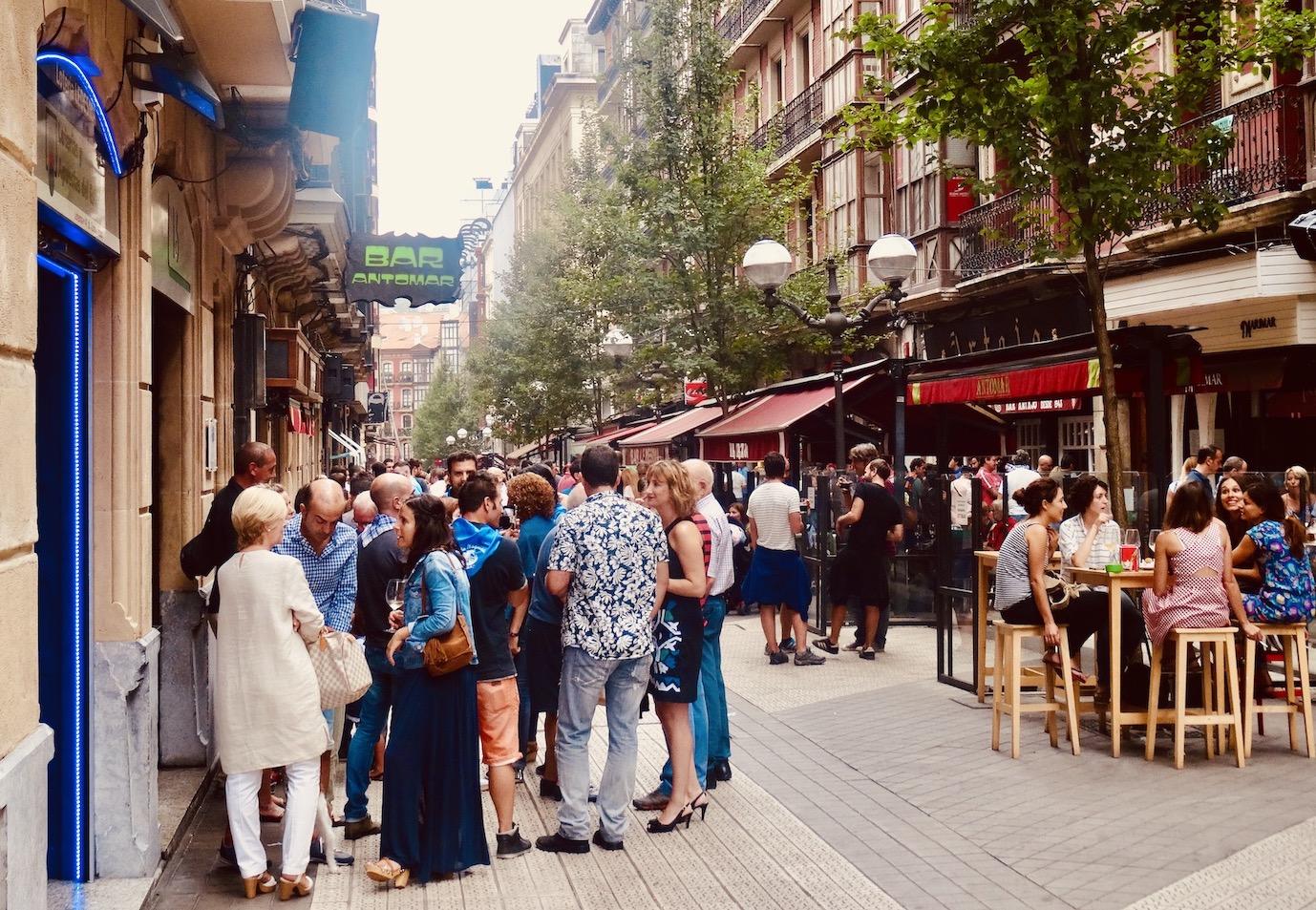 Calle Ledesma Bilbao.