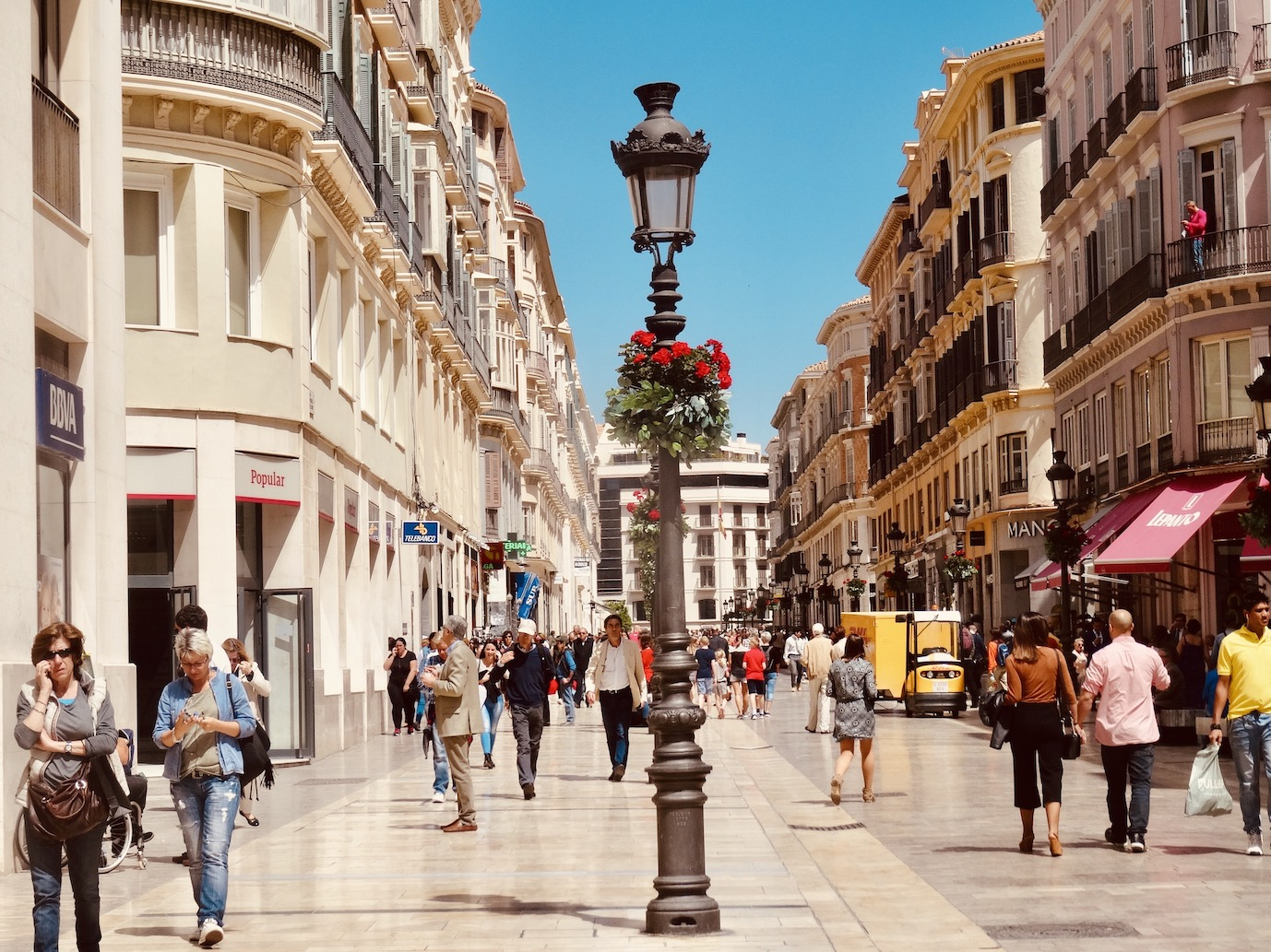Calle Marques de Larios Cool Spots Around Malaga.