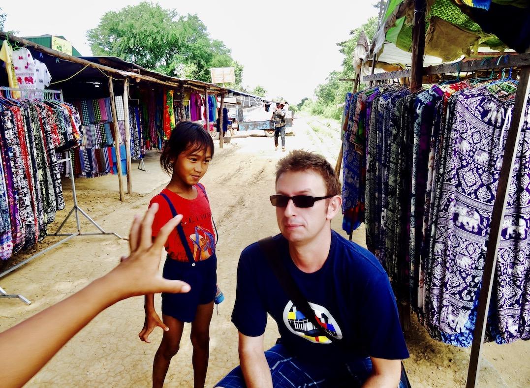 Cambodian children Battambang Cambodia