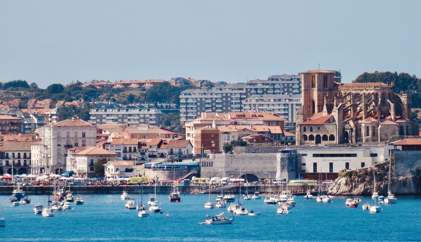 Castro Urdiales Spanish town.