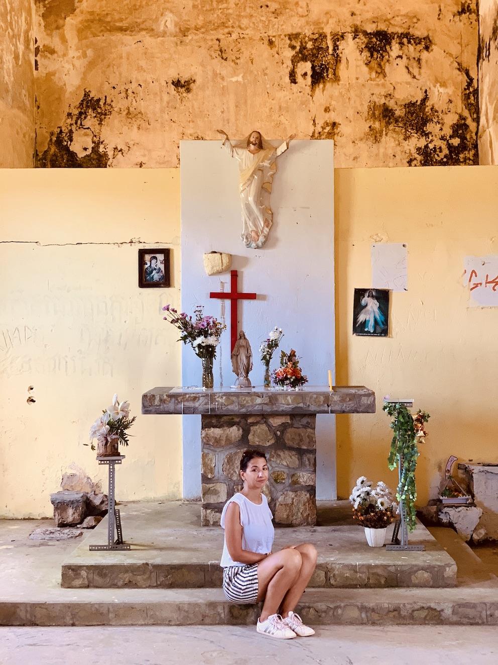 Catholic Church Bokor Mountain Cambodia.