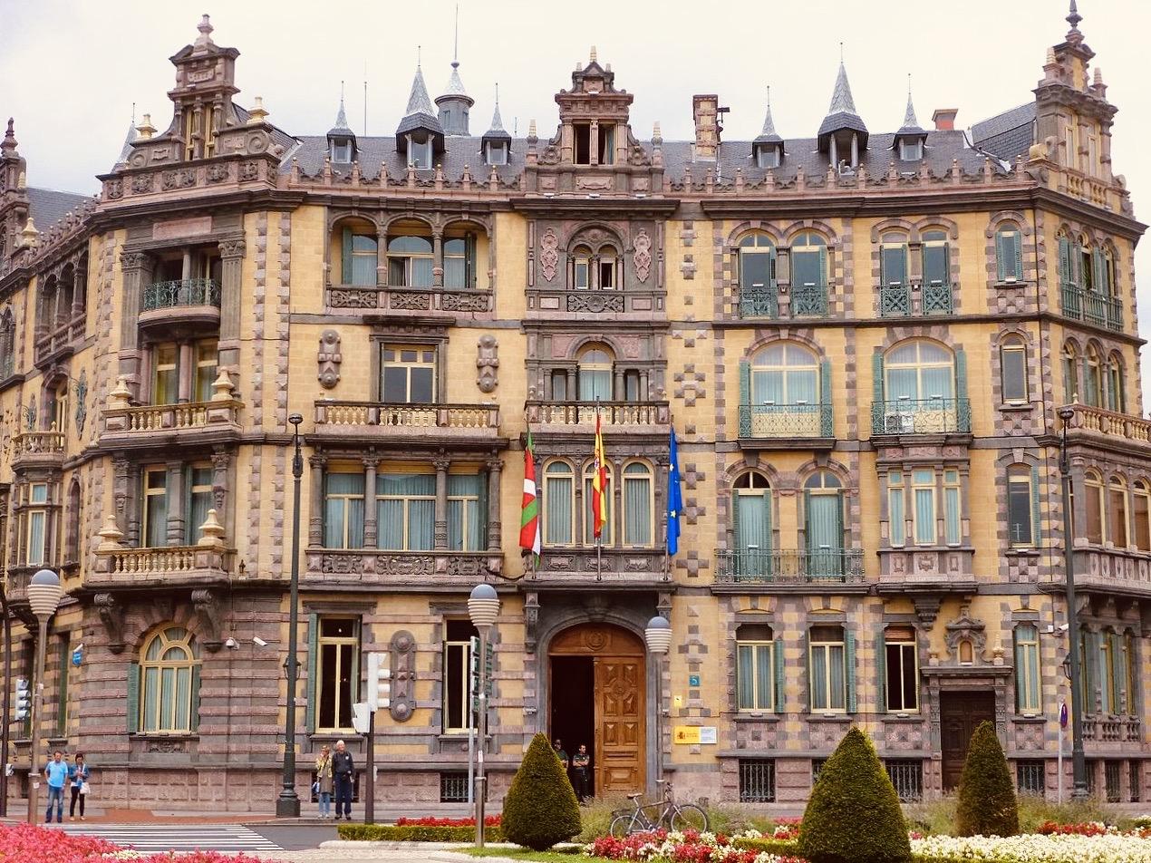Chavarri Palace Bilbao Spain.