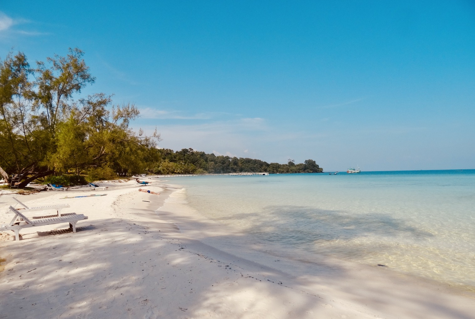 Coconut Beach on Koh Rong Island