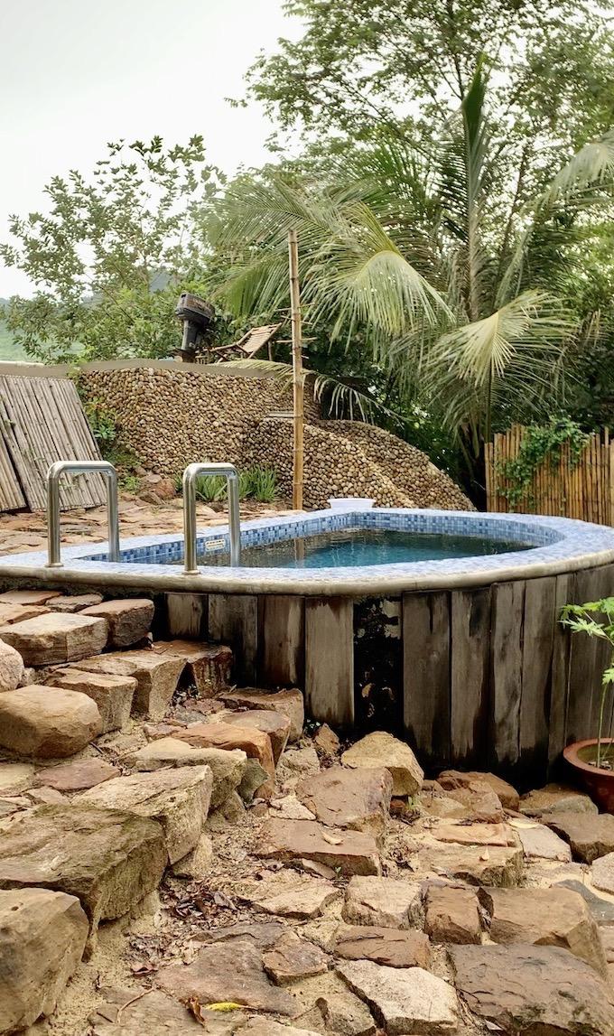 Cold Plunge Pool, Nibi Spa, Kampot.