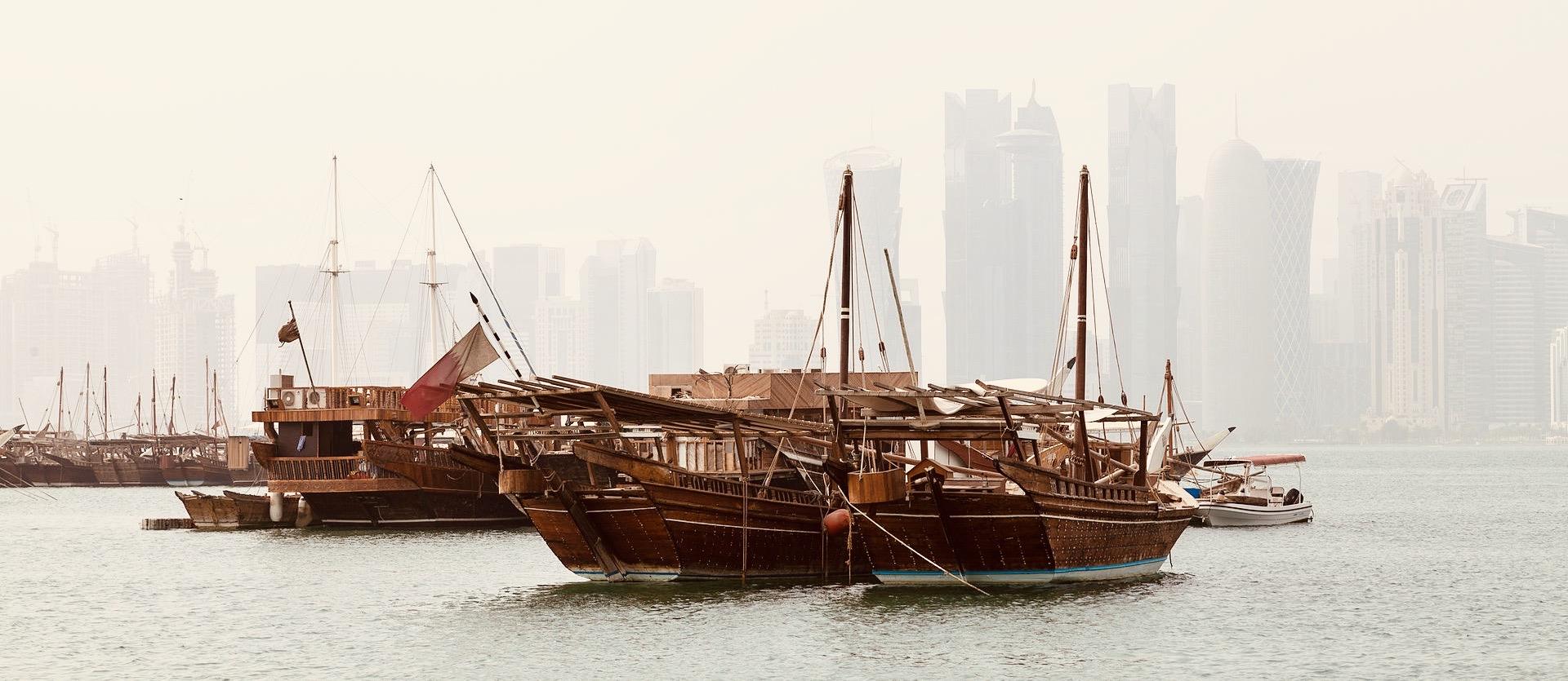 Doha Bay.