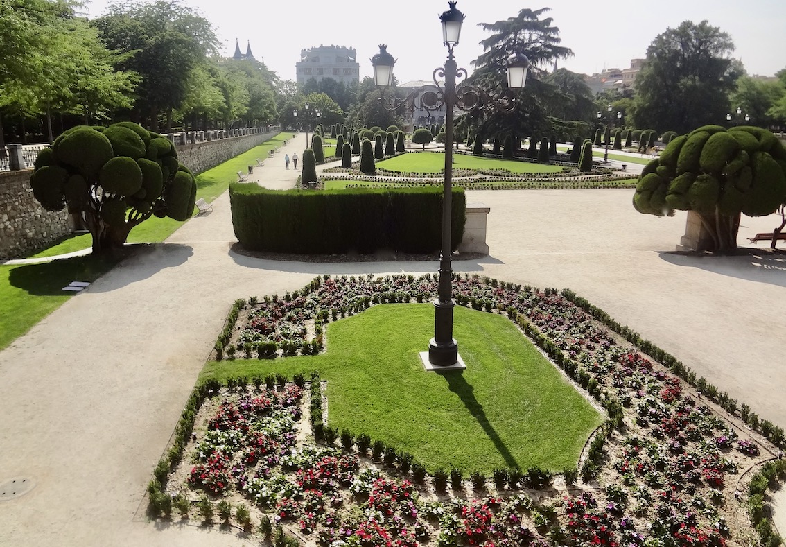 El Retiro Park Madrid.