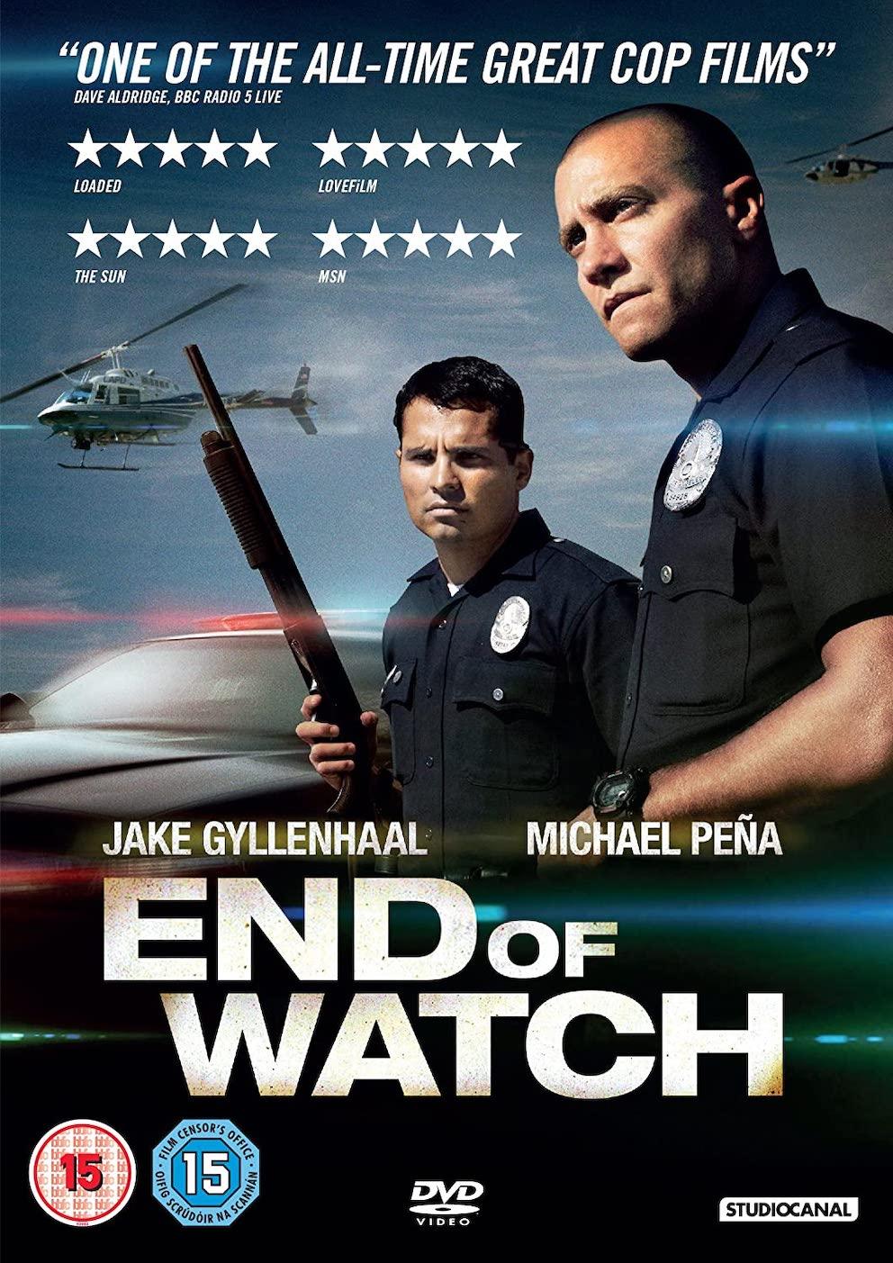 End of Watch Jake Gyllenhaal.