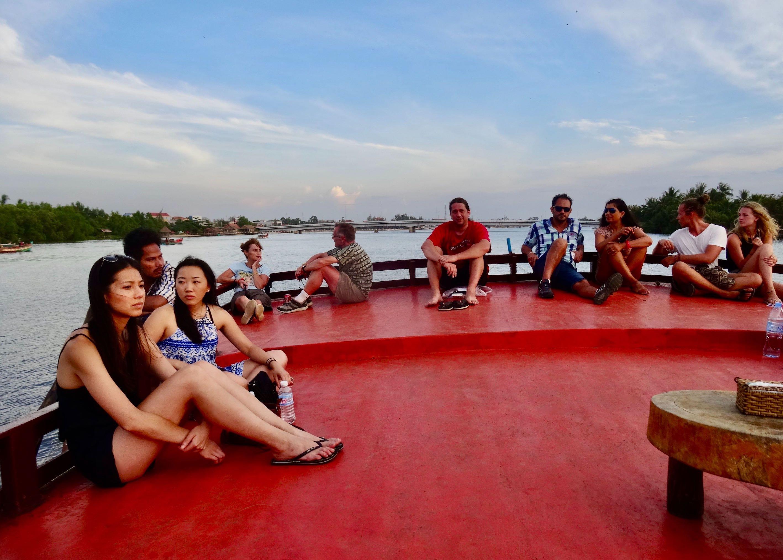 Firefly River Cruise Kampot.