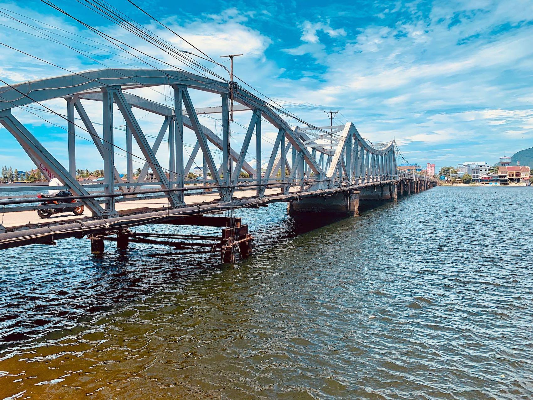 French Bridge Kampot.