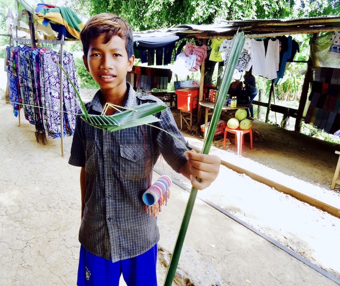 Grasshopper Boy Battambang Cambodia.
