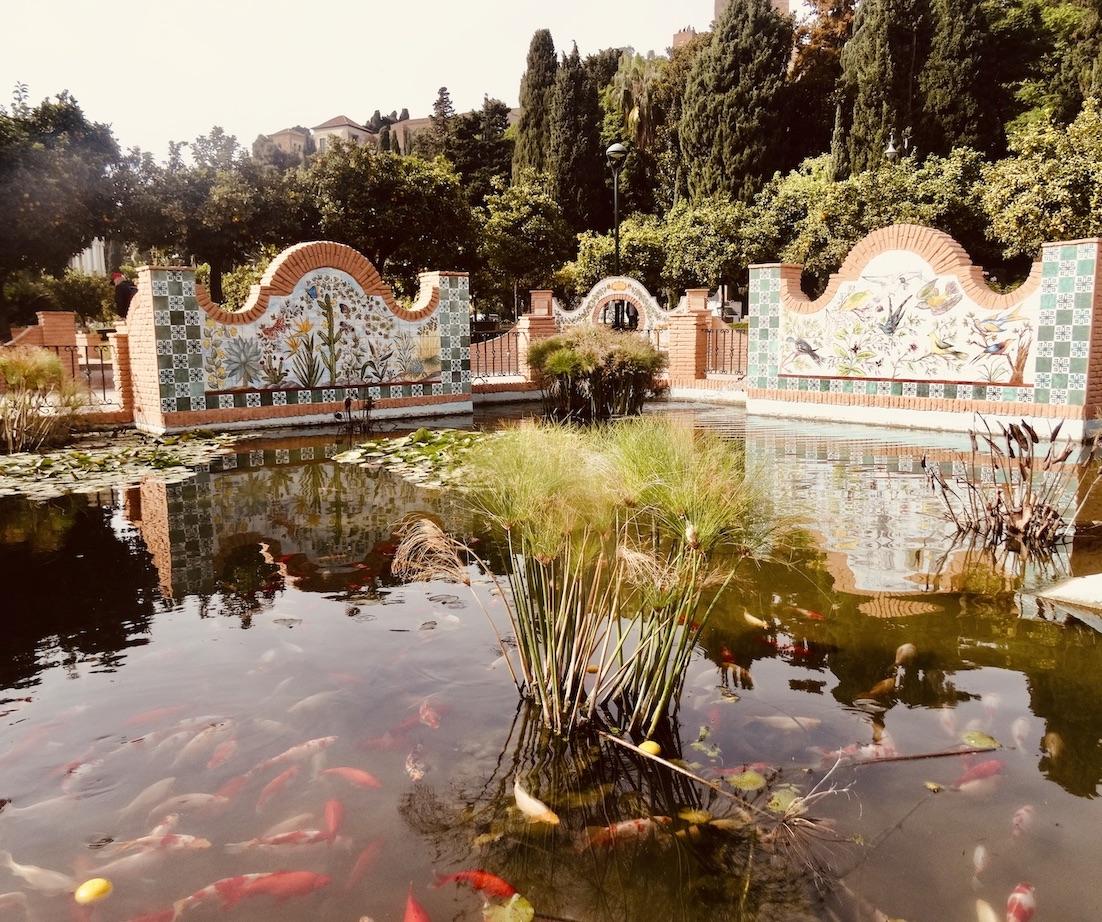 Jardines de Pedro Luis Alonso Malaga.