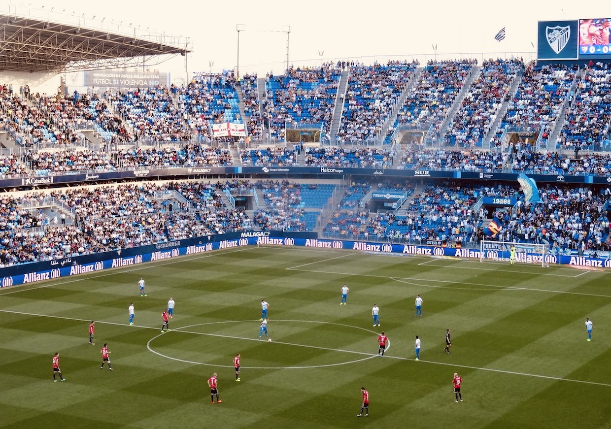 La Rosaleda Stadium Cool Spots Around Malaga.