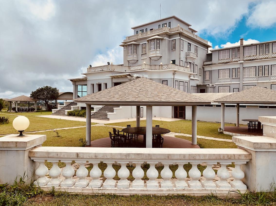Le Bokor Palace Hotel.