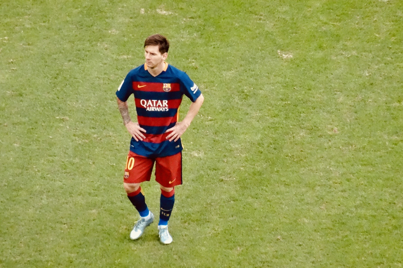Lionel Messi Athletic Bilbao versus Barcelona 2015