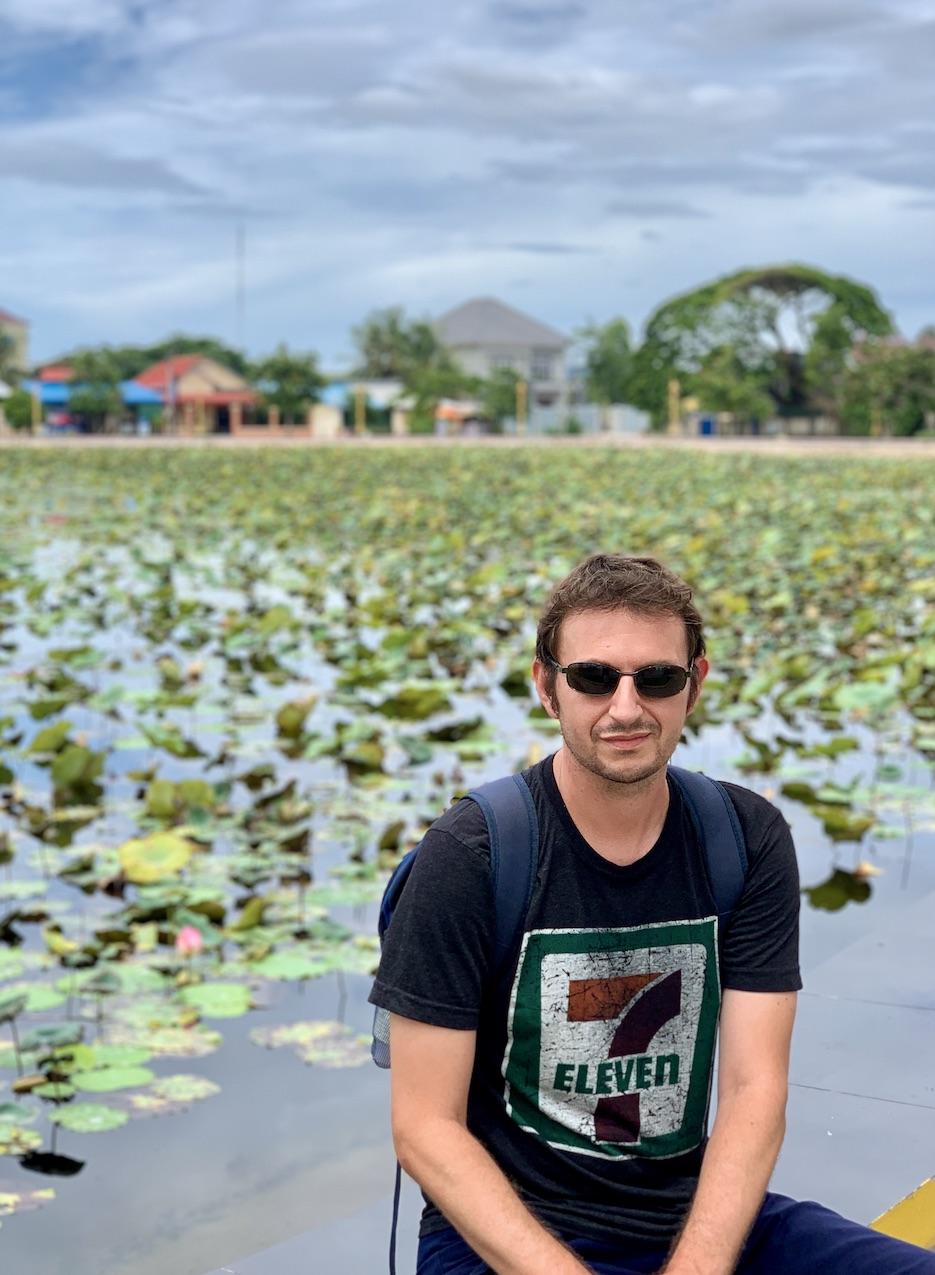 Lotus Pond Kampot.