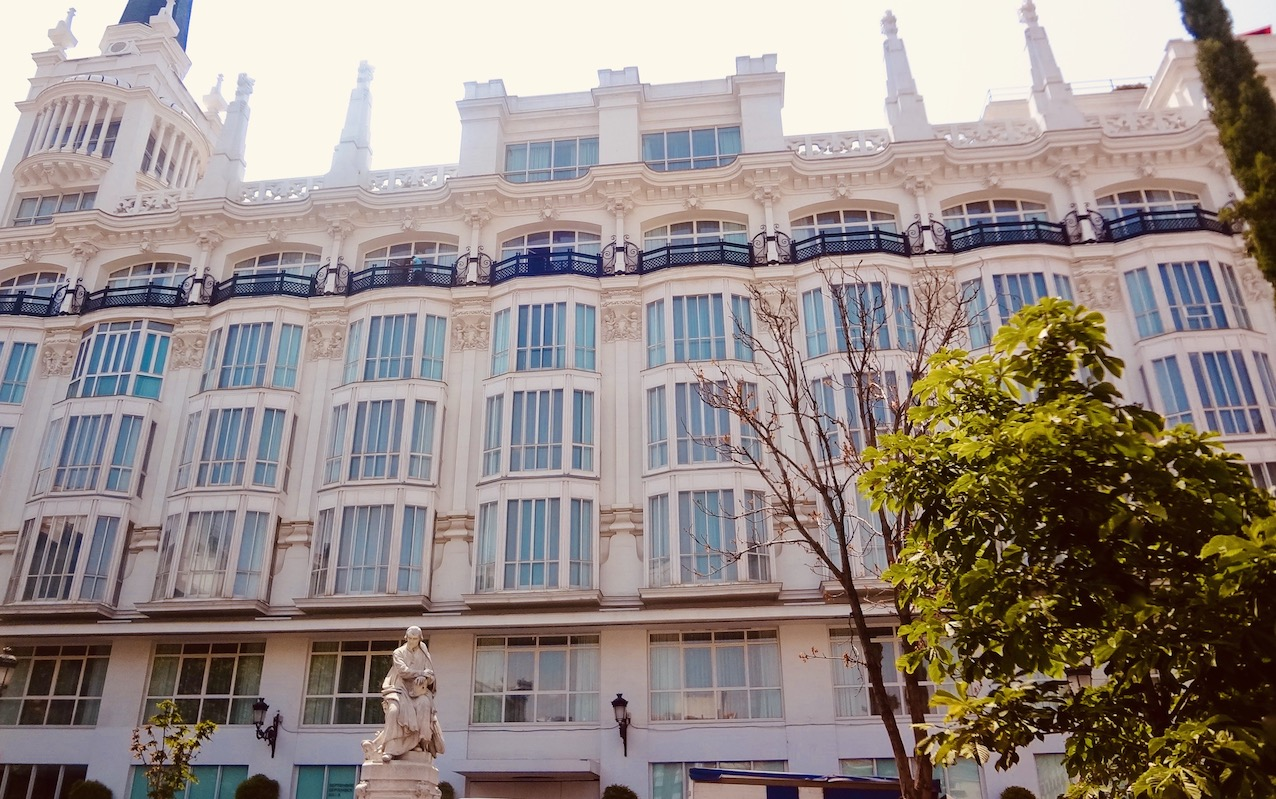 ME Madrid Reina Victoria Hotel.